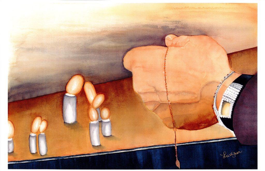 """Prayer for Heart's Healing"" | $400+tax | Original Watercolor"